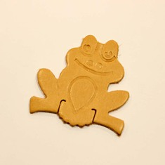 Leather Frog (5.5x5cm)