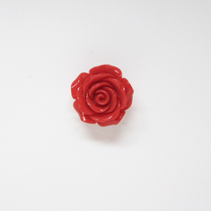 Acrylic Rose Red (3cm)