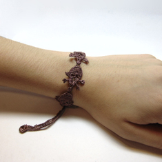 Lace Bracelet Brown