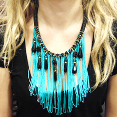 Necklace Mountaineering Fringes Tear