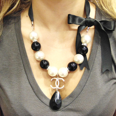 "Necklace Pearls ""Coco Chanel"""