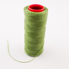 Waxed Cotton Cord Light Olive 100m