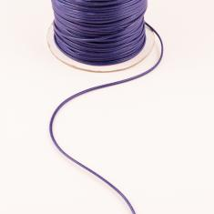 Waxed Linnen Cord Purple (1.5mm)