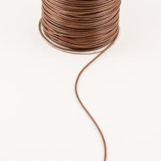 Waxed Linnen Cord Brown (1.5mm)