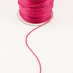 Waxed Linnen Cord Fuchsia (1.5mm)