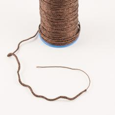 Metallic Cord Brown (1mm)