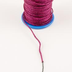 Metallic Cord Fuchsia (1mm)
